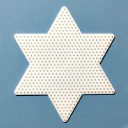 Hama Midi nagy csillag sablon