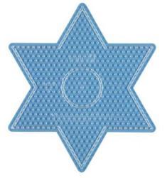Hama Midi nagy csillag sablon - átlátszó
