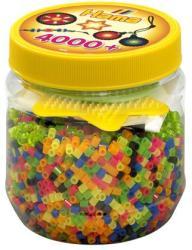 Hama Midi gyöngy 4000db-os neon mix 3 sablonnal