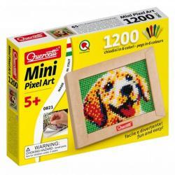 Quercetti Mini Pixel Art pötyi készlet-kutyus 1200db-os
