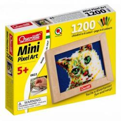 Quercetti Mini Pixel Art pötyi készlet-cica 1200db-os