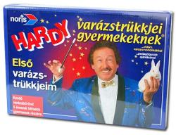 Noris Hardy varázstrükkjei gyermekeknek