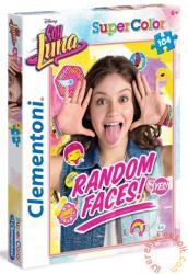 Clementoni Super Color puzzle - Soy Luna - Grimaszolj 104 db-os (27962)
