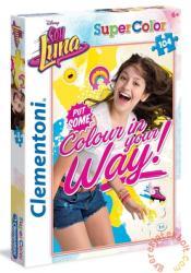 Clementoni Super Color puzzle - Soy Luna - Színezd ki! 104 db-os (27966)