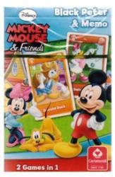 Mikiegér mini Fekete Péter kártya