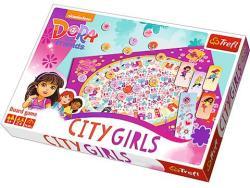 Trefl Dóra és barátai: Városi lányok társasjáték