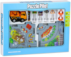Puzzle Pilot Összerakható betonkeverő pálya