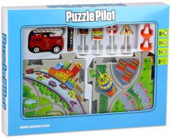 Puzzle Pilot Összerakható tűzoltóautó pálya