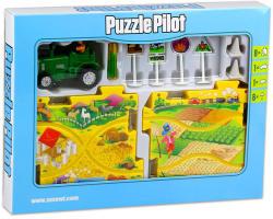Puzzle Pilot Összerakható traktor pálya