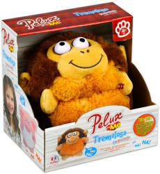 Globo Pelux and Me nevető plüssfigura - majom