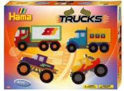 Hama Midi Járművek gyöngyszett 4000db-os