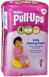 Huggies PullUps bugyipelenka, lány Disney mintával, 16 darab / csomag