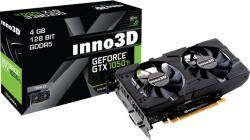 Inno3D GeForce GTX 1050 Ti Twin X2 4GB GDDR5 128bit PCIe (N105T-1DDV-M5CM)