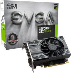 EVGA GeForce GTX 1050 Ti GAMING 4GB GDDR5 128bit PCIe (04G-P4-6251-KR)