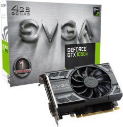 EVGA GeForce GTX 1050 Ti GAMING 4GB GDDR5 128bit PCIe (04G-P4-6251-KR)