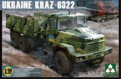 TAKOM Ukraine KrAz-6322 Heavy Truck (late type) (1/35)