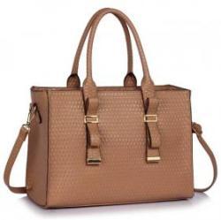 8 400 Ft LeeSun Szögletes női lakk táska Sveta - nude 36567b8079