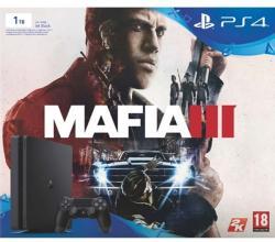 Sony PlayStation 4 Slim Jet Black 1TB (PS4 Slim 1TB) + Mafia III