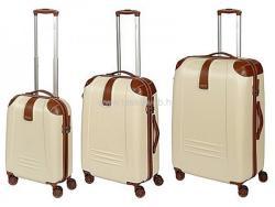 DIELLE 155-Szett - négykerekű bőröndszett (3db)