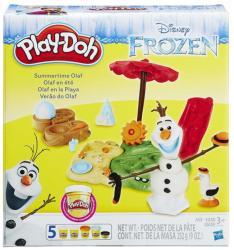 Hasbro Play-Doh Jégvarázs Nyaraló Olaf gyurmaszett
