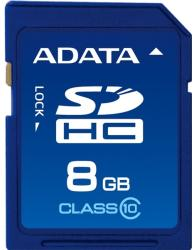 ADATA SDHC 8GB Class 10 ASDH8GCL10-R