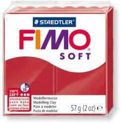 FIMO Soft égethető gyurma - karácsonyi piros 57g (FM80202P)