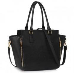 LeeSun Fekete női táska - Dasha