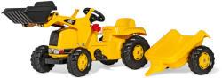 Rolly Toys Kid CAT pedálos markolós traktor utánfutóval (023288)