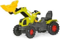 Rolly Toys FarmTrac Claas Axos 340 pedálos markolós traktor (611041)