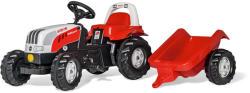 Rolly Toys Kid Steyr 6160 CVT pedálos traktor utánfutóval (012510)