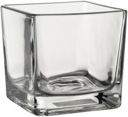 Sandra Rich Dekoratív pohár/ üveg kocka Sandra Rich 7, 5 cm