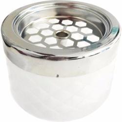 Gastro Kültéri hamutartó széllbe üveges Gastro 9, 6 cm, fehér