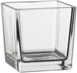 Sandra Rich Dekoratív pohár/ üveg kocka Sandra Rich 9, 5 cm