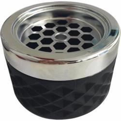 Gastro Kültéri álló hamutartó szélbe üveges Gastro 9, 6 cm, fekete