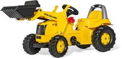Rolly Toys Kid New Holland Construction pedálos markolós traktor (025053)