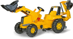 Rolly Toys Junior CAT pedálos markolós traktor exkavátorral (813001)