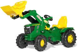 Rolly Toys FarmTrac John Deere 6210R pedálos markolós traktor (611096)