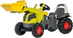 Rolly Toys Kid Claas Elios pedálos markolós traktor (025077)