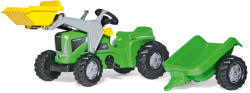 Rolly Toys Kiddy Futura pedálos markolós traktor utánfutóval (630035)
