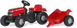 Rolly Toys Kid Massey Ferguson pedálos traktor utánfutóval (012305)