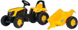 Rolly Toys Kid JCB pedálos traktor utánfutóval (012619)