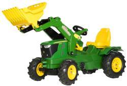 Rolly Toys Farmtrac John Deere 6210R pedálos traktor markolóval (611102)
