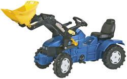 Rolly Toys FarmTrac New Holland TD 500 pedálos traktor utánfutóval (046713)