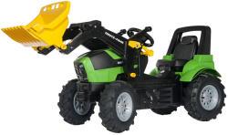 Rolly Toys FarmTrac Deutz-Fahr Agroton 7250 pedálos traktor markolóval (710133)