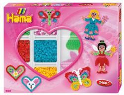 Hama Midi Lányos gyöngyszett 2400db-os