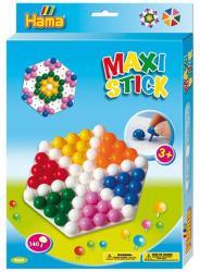 Hama Maxi pötyi vegyes színben hexa táblával 140db-os