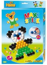 Hama Maxi pötyi vegyes színben maci táblával 140db-os