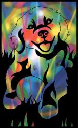 Reeves Mini színes képkarcoló - Kutya