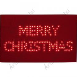 Polarlite LED-es karácsonyi lábtörlő Merry Christmas felirattal (PDE-05-001)