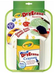 Crayola Szárazon törölhető tábla zsírkrétával